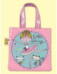 Image of Little Ballerina Arabesque Tote Bag